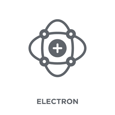 Electron icon. Electron design concept from Science collection. Simple element vector illustration on white background.