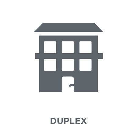 Duplex icon. Duplex design concept from  collection. Simple element vector illustration on white background.