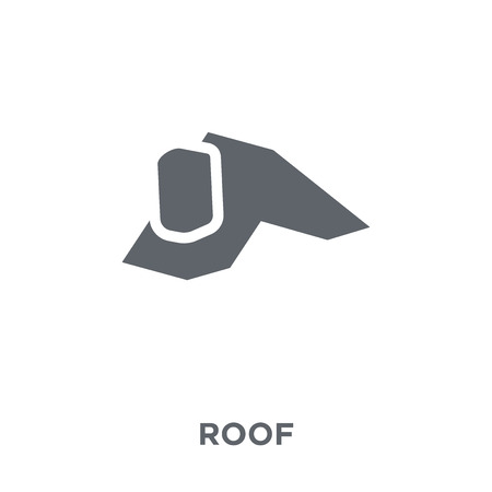 Roof icon. Roof design concept from  collection. Simple element vector illustration on white background. Illustration