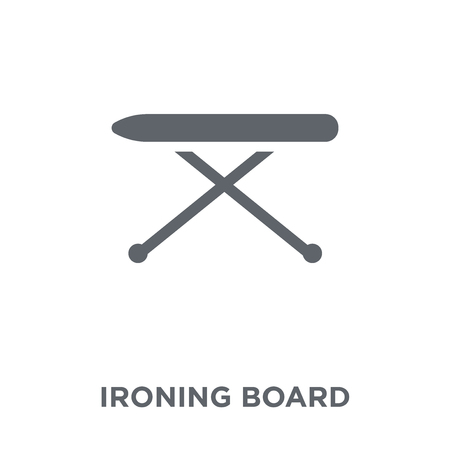 Ironing Board icon. Ironing Board design concept from  collection. Simple element vector illustration on white background. Ilustração