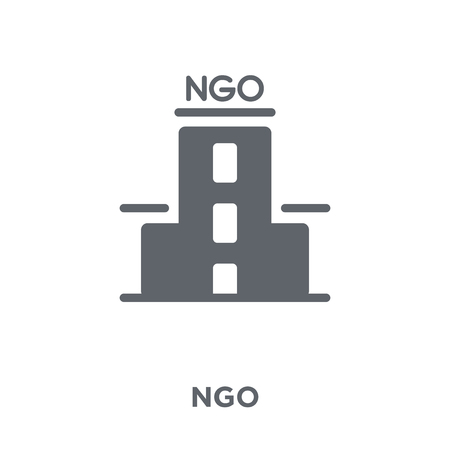 Ngo icon. Ngo design concept from Political collection. Simple element vector illustration on white background.
