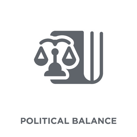 political Balance icon. political Balance design concept from Political collection. Simple element vector illustration on white background.