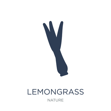 Lemongrass icon. Trendy flat vector Lemongrass icon on white background from nature collection, vector illustration can be use for web and mobile, eps10 Stock Illustratie