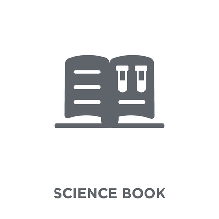 Science book icon. Science book design concept from  collection. Simple element vector illustration on white background.