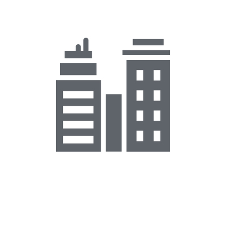 Skyline icon. Skyline design concept from  collection. Simple element vector illustration on white background. Illustration