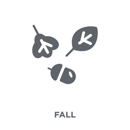 fall icon. fall design concept from  collection. Simple element vector illustration on white background. Ilustração