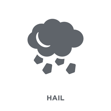 Hail icon. Hail design concept from  collection. Simple element vector illustration on white background.