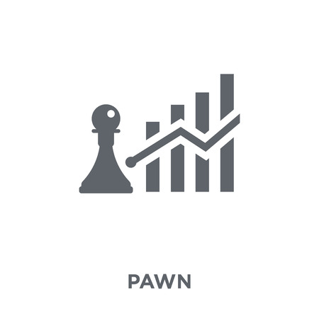 Pawn icon. Pawn design concept from  collection. Simple element vector illustration on white background.