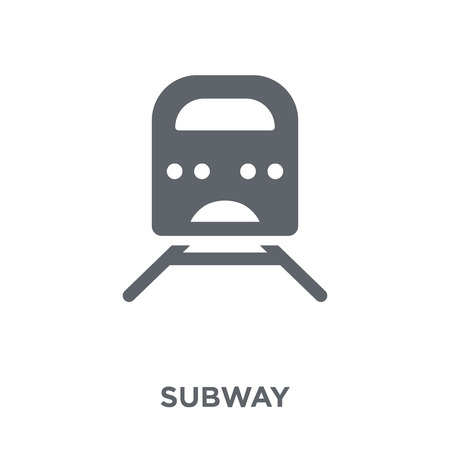 Subway icon. Subway design concept from  collection. Simple element vector illustration on white background.