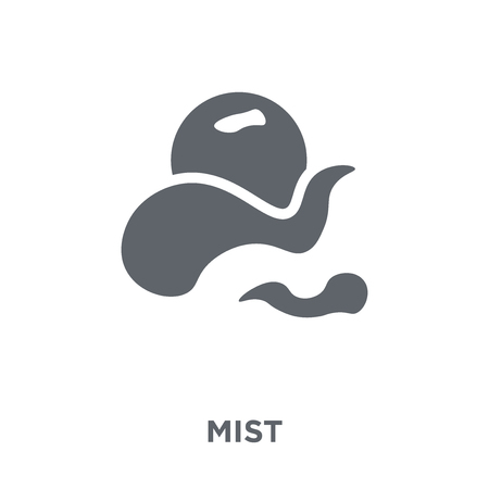 Mist icon. Mist design concept from  collection. Simple element vector illustration on white background. Banco de Imagens - 112415668