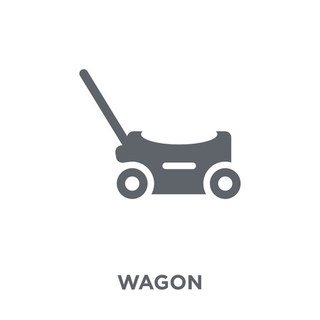 Wagon icon. Wagon design concept from  collection. Simple element vector illustration on white background. Foto de archivo - 112416218