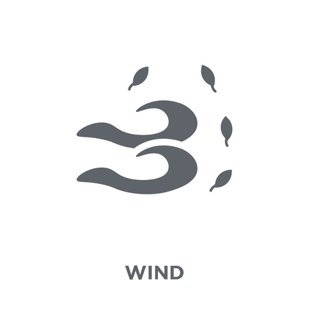 Wind icon. Wind design concept from  collection. Simple element vector illustration on white background.