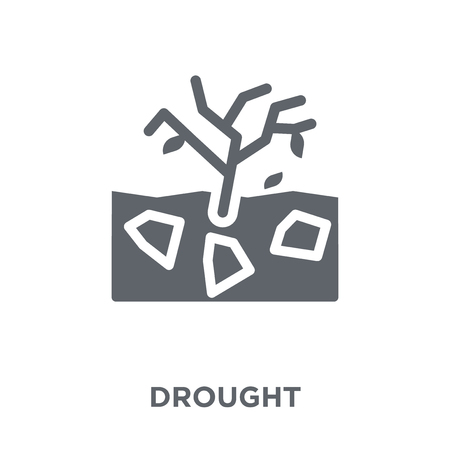 Drought icon. Drought design concept from  collection. Simple element vector illustration on white background. Foto de archivo - 112416229