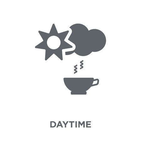 Daytime icon. Daytime design concept from  collection. Simple element vector illustration on white background.  イラスト・ベクター素材