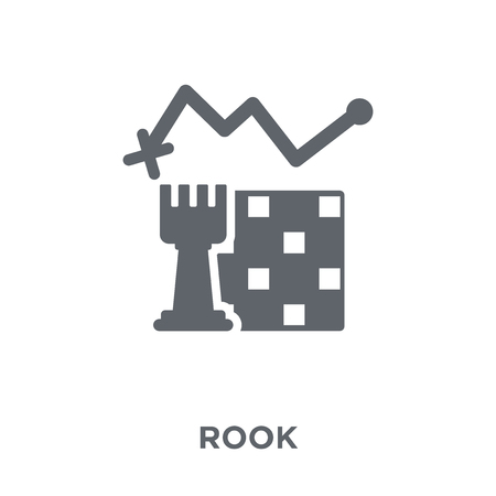 Rook icon. Rook design concept from Strategy 50 collection. Simple element vector illustration on white background.