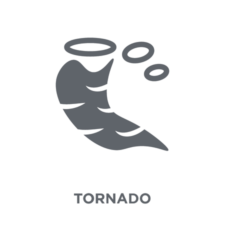 Tornado icon. Tornado design concept from  collection. Simple element vector illustration on white background.