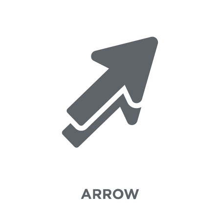 Arrow icon. Arrow design concept from  collection. Simple element vector illustration on white background.