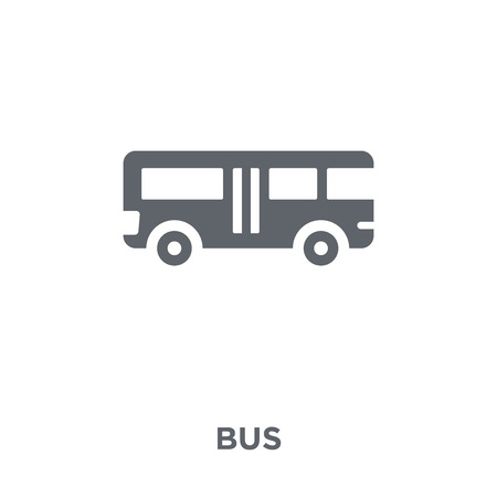 Bus icon. Bus design concept from  collection. Simple element vector illustration on white background. Zdjęcie Seryjne - 112416324