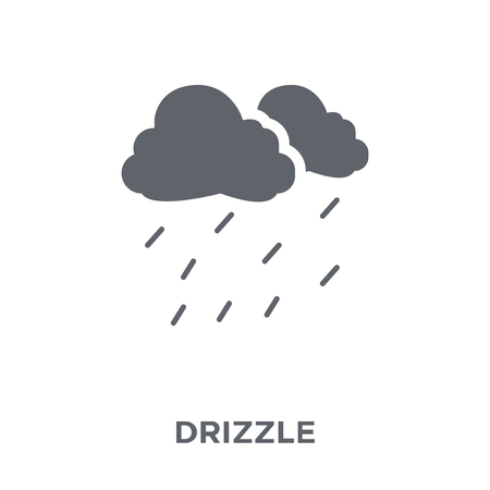 Drizzle icon. Drizzle design concept from  collection. Simple element vector illustration on white background.