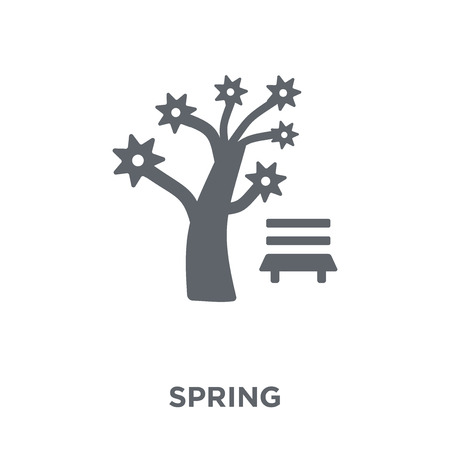 Spring icon. Spring design concept from  collection. Simple element vector illustration on white background.