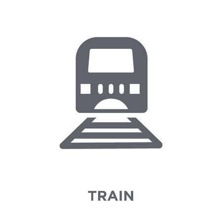 Train icon. Train design concept from  collection. Simple element vector illustration on white background.