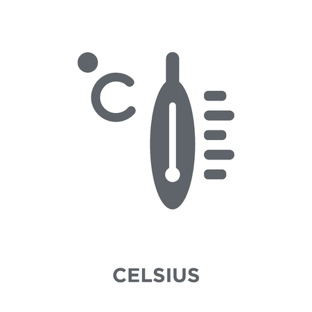 Celsius icon. Celsius design concept from  collection. Simple element vector illustration on white background.