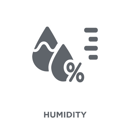Humidity icon. Humidity design concept from  collection. Simple element vector illustration on white background. 일러스트