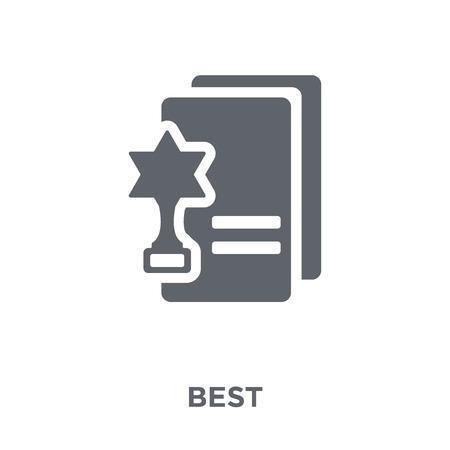 Best icon. Best design concept from  collection. Simple element vector illustration on white background.