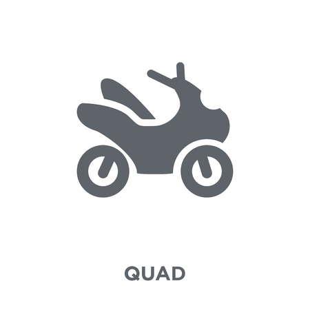 Quad icon. Quad design concept from  collection. Simple element vector illustration on white background.