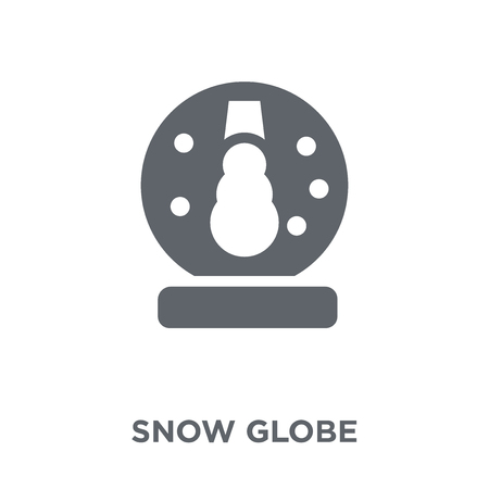 Snow globe icon. Snow globe design concept from Winter collection. Simple element vector illustration on white background. Illustration