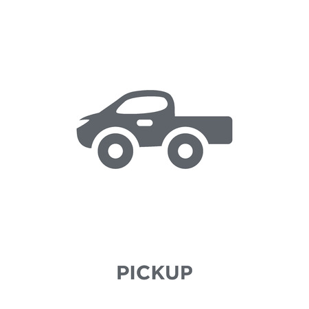 Pickup icon. Pickup design concept from  collection. Simple element vector illustration on white background.