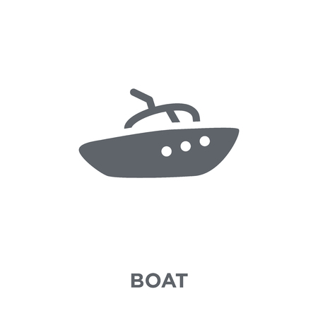 Boat icon. Boat design concept from  collection. Simple element vector illustration on white background.