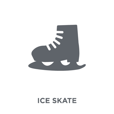 Ice skate icon. Ice skate design concept from  collection. Simple element vector illustration on white background.