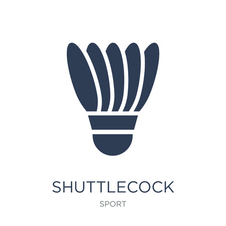 Shuttlecock icon. Trendy flat vector Shuttlecock icon on white background from sport collection, vector illustration can be use for web and mobile, eps10