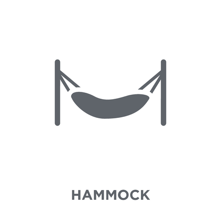 Hammock icon. Hammock design concept from  collection. Simple element vector illustration on white background.