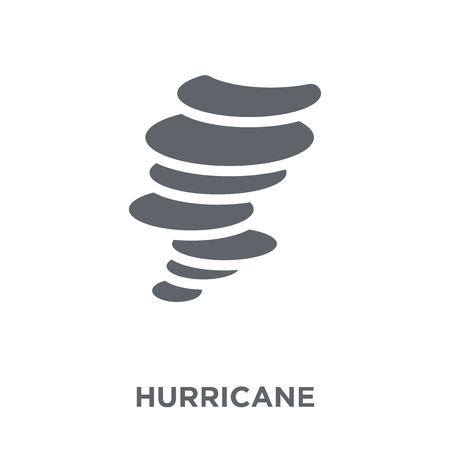 Hurricane icon. Hurricane design concept from  collection. Simple element vector illustration on white background.
