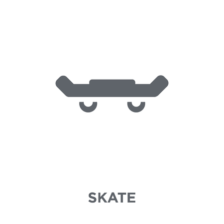 Skate icon. Skate design concept from  collection. Simple element vector illustration on white background.