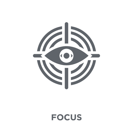 Focus icon. Focus design concept from  collection. Simple element vector illustration on white background.