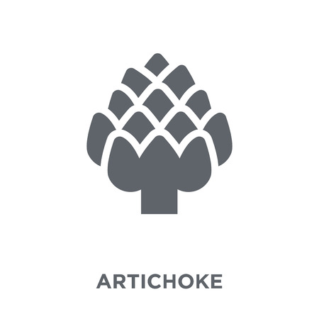 Artichoke icon. Artichoke design concept from Fruit and vegetables collection. Simple element vector illustration on white background.
