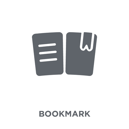 Bookmark icon. Bookmark design concept from  collection. Simple element vector illustration on white background.