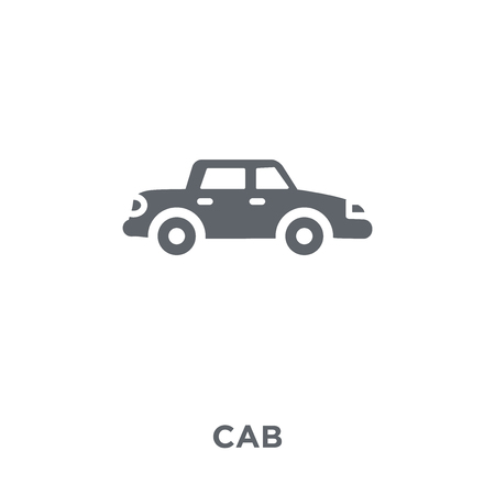 Cab icon. Cab design concept from  collection. Simple element vector illustration on white background.