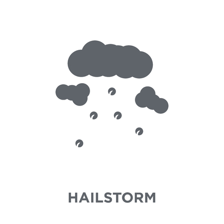 Hailstorm icon. Hailstorm design concept from  collection. Simple element vector illustration on white background.
