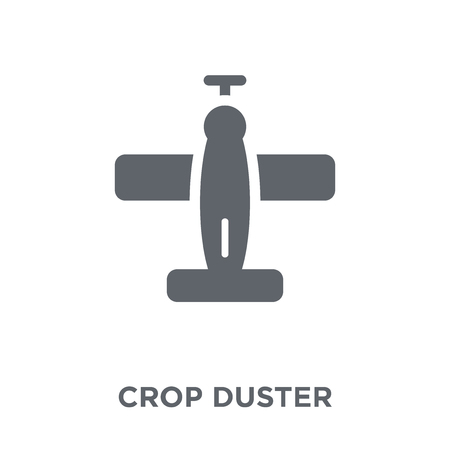 crop duster icon. crop duster design concept from Transportation collection. Simple element vector illustration on white background.