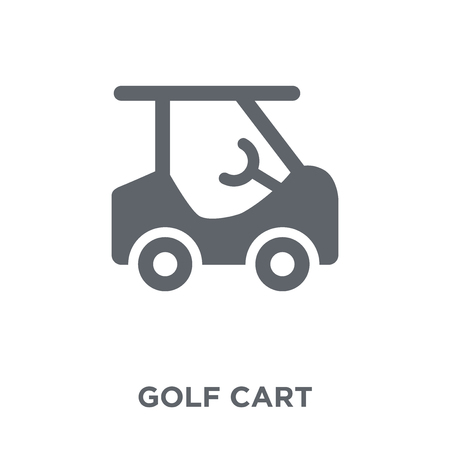 Golf cart icon. Golf cart design concept from  collection. Simple element vector illustration on white background.