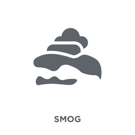 Smog icon. Smog design concept from  collection. Simple element vector illustration on white background. Reklamní fotografie - 112417514