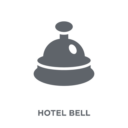 Hotel bell icon. Hotel bell design concept from  collection. Simple element vector illustration on white background.