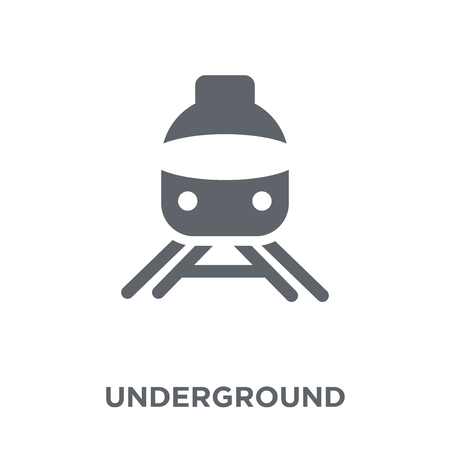 Underground icon. Underground design concept from  collection. Simple element vector illustration on white background.
