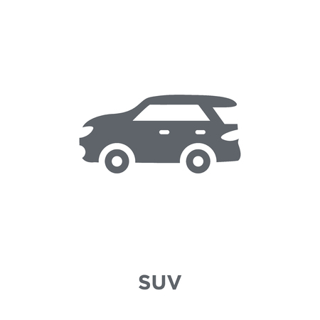 Suv icon. Suv design concept from  collection. Simple element vector illustration on white background. Иллюстрация