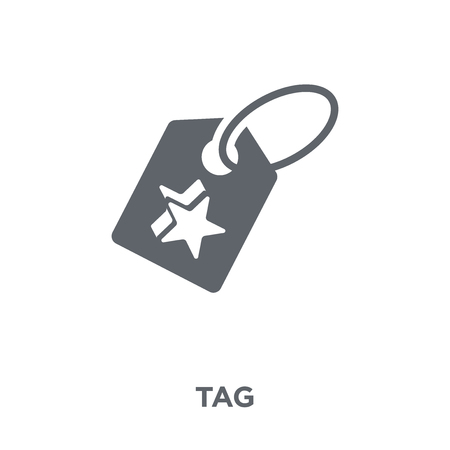 Tag icon. Tag design concept from collection. Simple element vector illustration on white background.
