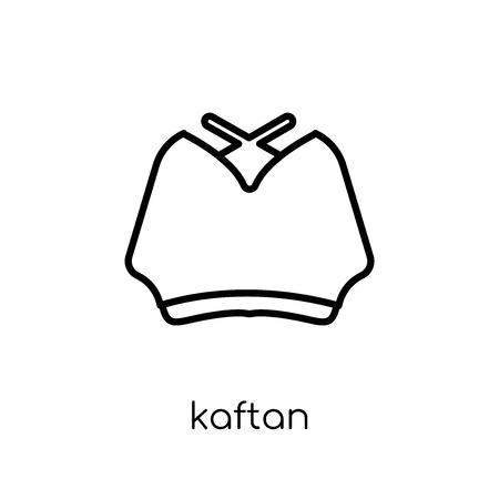 kaftan icon. Trendy modern flat linear vector kaftan icon on white background from thin line Kaftan collection, outline vector illustration Illustration